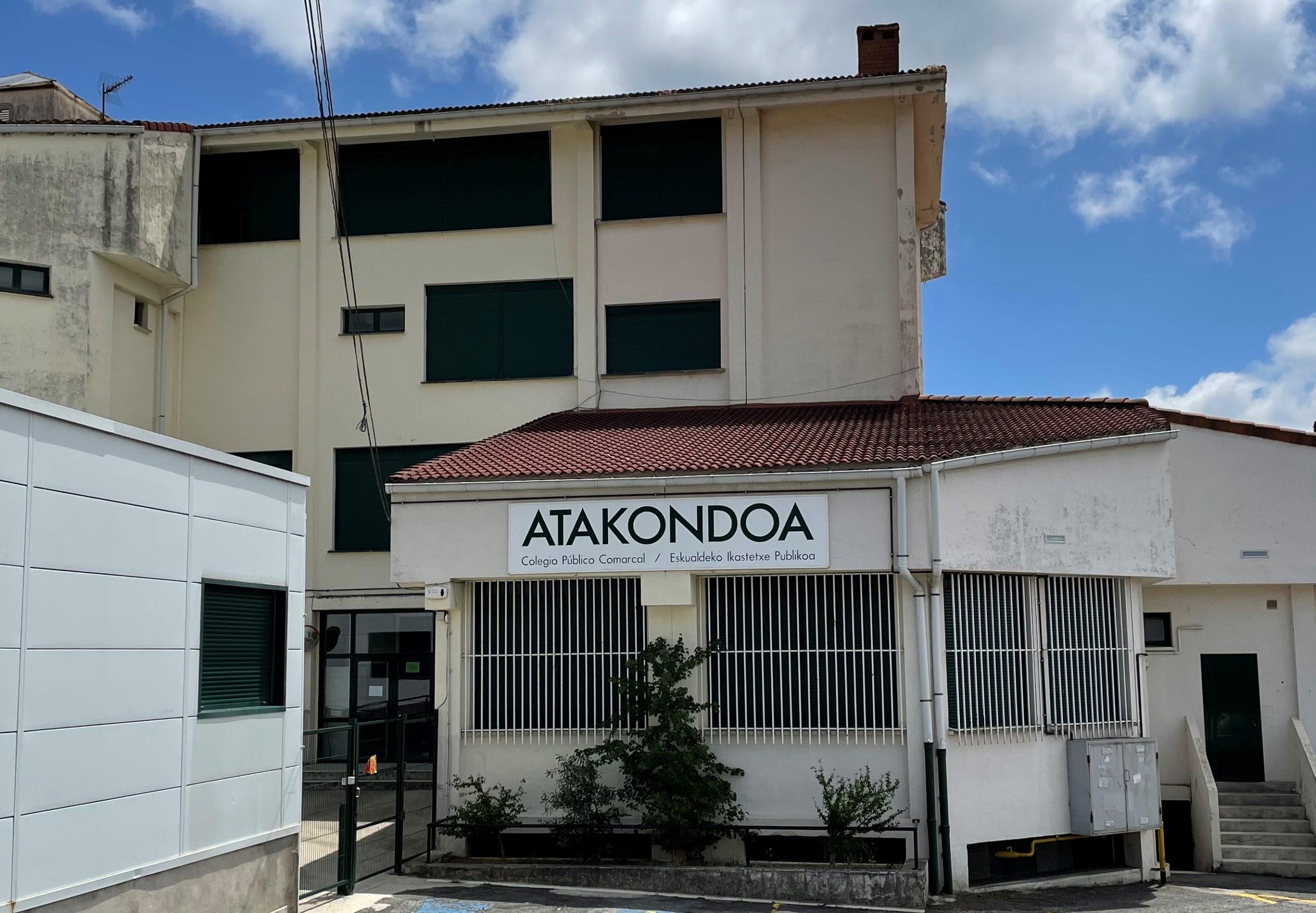 Proyecto colaborativo para aislar ls escuela Atakondoa de Irurtzun